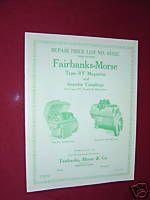 Fairbanks Morse DRV2A DRV2B Magneto Manual John Deere