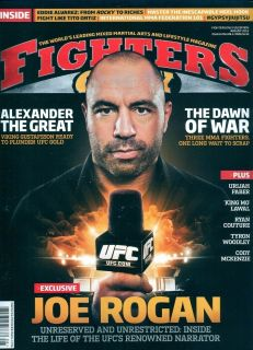 Fighters Only August 2012 Joe Rogan Eddie Alvarez Tito Ortiz