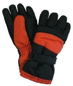 New Mens John Bartlett Winter Snow Ski Gloves Thinsulate Lined Black