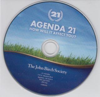 Agenda 21 How Will It Affect You The John Birch Society DVD