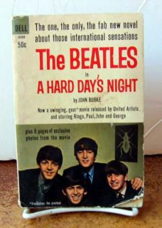 The Beatles in A Hard Days Night by John Burke PB 1964