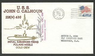 USS John C Calhoun Submarine Cover