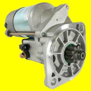 New Starter Motor John Deere Excavator 27C 35C 50c Isuzu 8971128650