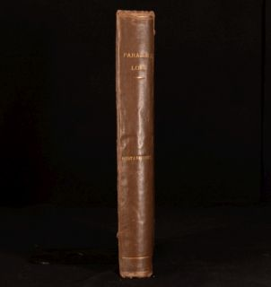 C1866 Paradise Lost Illustrated Gustave Dore with Life of Milton