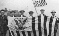 Civil Flag 3x5 Feet Heavy Knit Polyester Print