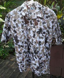 Hawaiian Shirt Medium Kahala Cotton John Severson