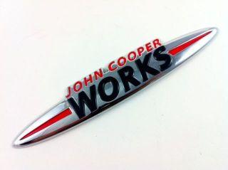 Mini Cooper s One John Cooper Works JCW Logo Emblem R53 R56 R57