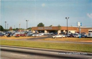 Easely South Carolina John Foster Ford Mercury Car Dealership Postcard