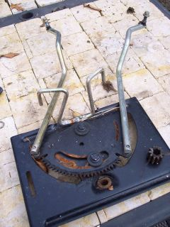 John Deere L100 Steering Gear and Tie Rods 108 110 111 L118 L120 L130