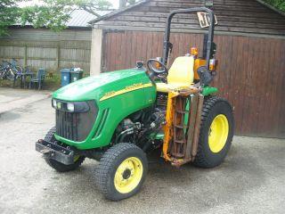 John Deere 3320 Compact Tractor Lawn Mower 4x4 Tractor Mower