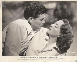 Joan Crawford Vintage Press Still John Garfield Humoresque 10X8BW RARE
