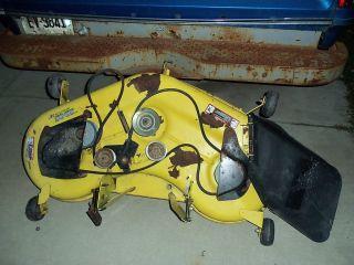 John Deere L120 48  Riding Lawn Mower Deck
