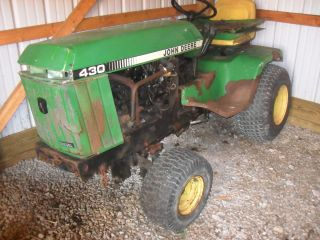 John Deere 430 Diesel Yanmar Fix or Parts