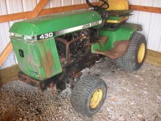 John Deere 430 Diesel Yanmar Fix or Parts