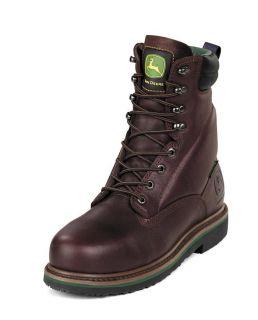 John Deere Boots Safety Toe Waterproof Mens 8 Boots