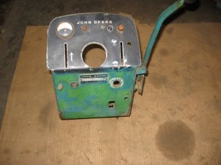 John Deere 140 H3 Dash Tower Lighter Amp Gage and More