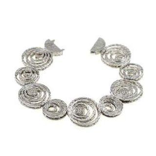 144267 John Hardy Langit Sterling Silver Bracelet M