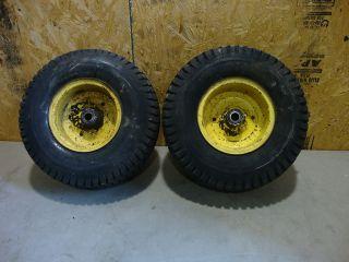 John Deere 400 Tractor Front Wheels Tires Rims