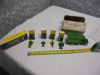 Ertl JOHN DEERE TRUCK BANK No 102 1926 Mack Bulldog Delivery Van 5534 More