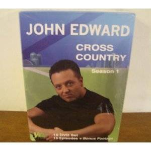JOHN EDWARD CROSS COUNTRY SEASON 1 DVD SET NEW SEALED