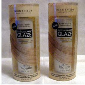 John Frieda Luminous Color Glaze Blonde Platinum Champa