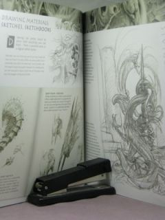 1st Signed by Artist John Howe Fantasy Art Workshop by John Howe 2007 1600610102