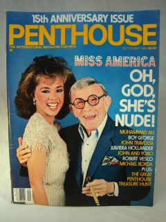 Penthouse Magazine September 1984 Miss America Vanessa Williams John Lennon