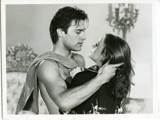 Dynasty John James barechested Pamela Sue Martin Original TV 7x9 Still Photo