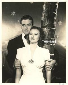 Margaret Lindsay John Payne Garden of The Moon 1938 Vintage Movie 6224
