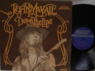 John Mayall Down The Line LP RARE US Pressing on London