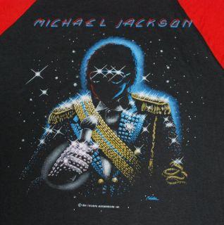 Vintage Michael Jackson Victory Tour T Shirt 1984 M