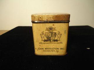 Vintage Tobacco Snuff Tins John Middleton Inc