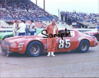 John Price 85 USAC Stock Car Color 8x10 Photo