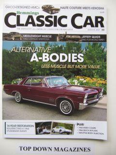 Classic Car Magazine Hemmings Aug 2011 John Skumin 1954 Nash Metropolitan