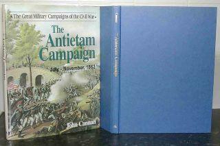 Maryland CAMPAIGN Battle of ANTIETAM John Cannan AMERICAN CIVIL WAR Hardback USA