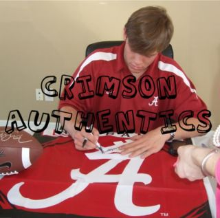 John Parker Wilson Signed Alabama Football Jersey Proof