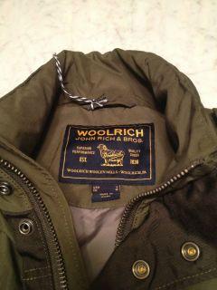 Mens Woolrich John Rich and Bros Miller Field Jacket