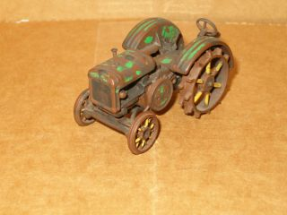 John Deere Tractor On30 Die Cast O Scale Weathered
