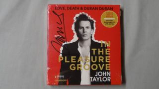SIGNED John Taylor In the Pleasure Groove Love Death Duran Duran Audiobook CD