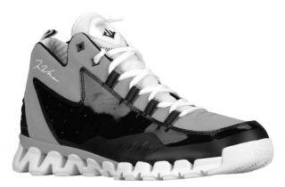 New Reebok John Wall 3 Zigescape ZigTech Basketball Shoes Gray Black White Men