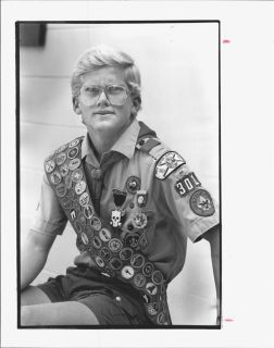 1987 John Ritter Eagle Scout Press Photo