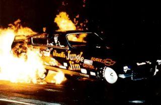 NHRA Jim Liberman 1 64 Diecast Nitro Funny Car Jungle Pam Johnny Lightning