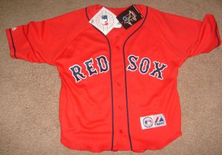 JOHNNY DAMON Boston Red Sox Jersey Shirt NEW Tags SEWN PATCH NWT Womens 2X XXL