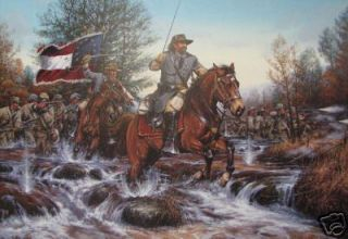 Battle at Stone's River by John Paul Strain Civil War
