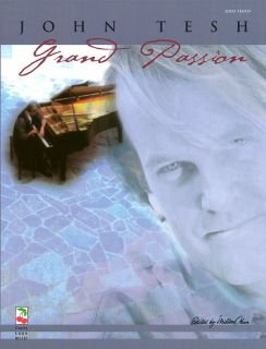 John Tesh Grand Passion Piano Sheet Music Song Book