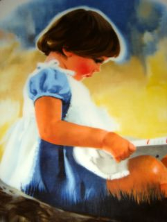 Donald Zolan Children Pemberton Oakes by Myself Plate