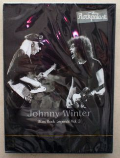 Johnny Winter Blues Rock Legends Vol 3 Rockpalast 1979 Sealed Original DVD