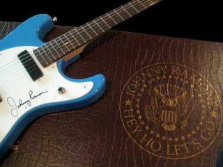 Hallmark Johnny Ramone Signatuare Guitar