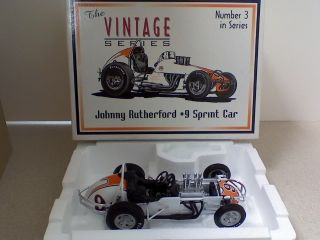 Johnny Rutherford 9 1 18 GMP Vintage Sprint Car