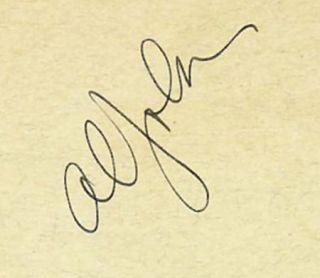 AL JOLSON VINTAGE 1930s ORIGINAL SIGNED ALBUM PAGE AUTOGRAPH CUT MAGAZINE PIC